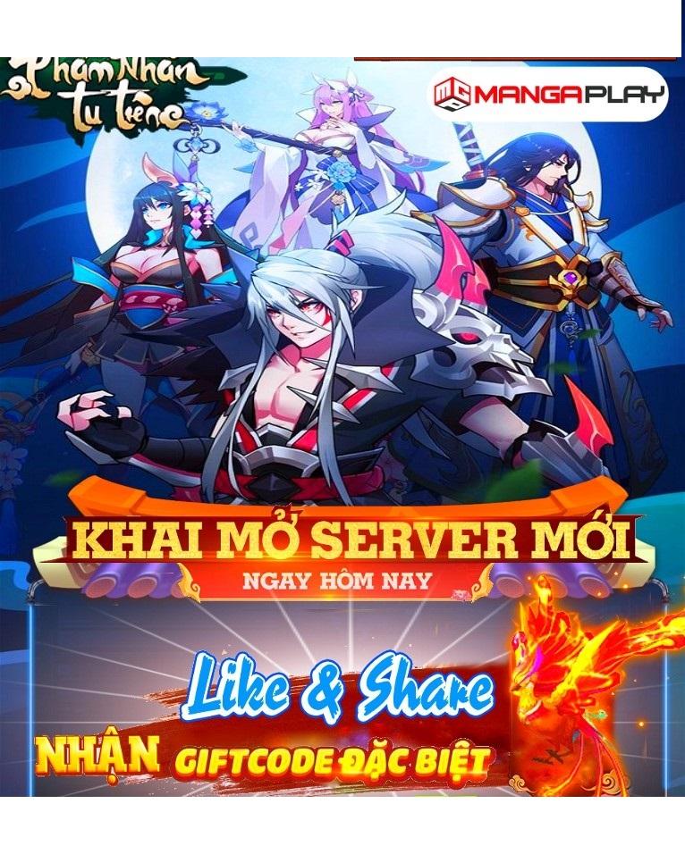 Phàm Nhân Tu Tiên - 7h 13/10/201 Khai mở S43 - Free 50.000.000 KNB + VIP 14 - Phát Giffcode hàng ngày 89438912