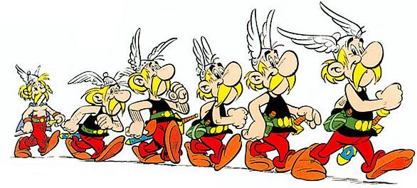 Recherche images évolution Astérix Asterix2FR4