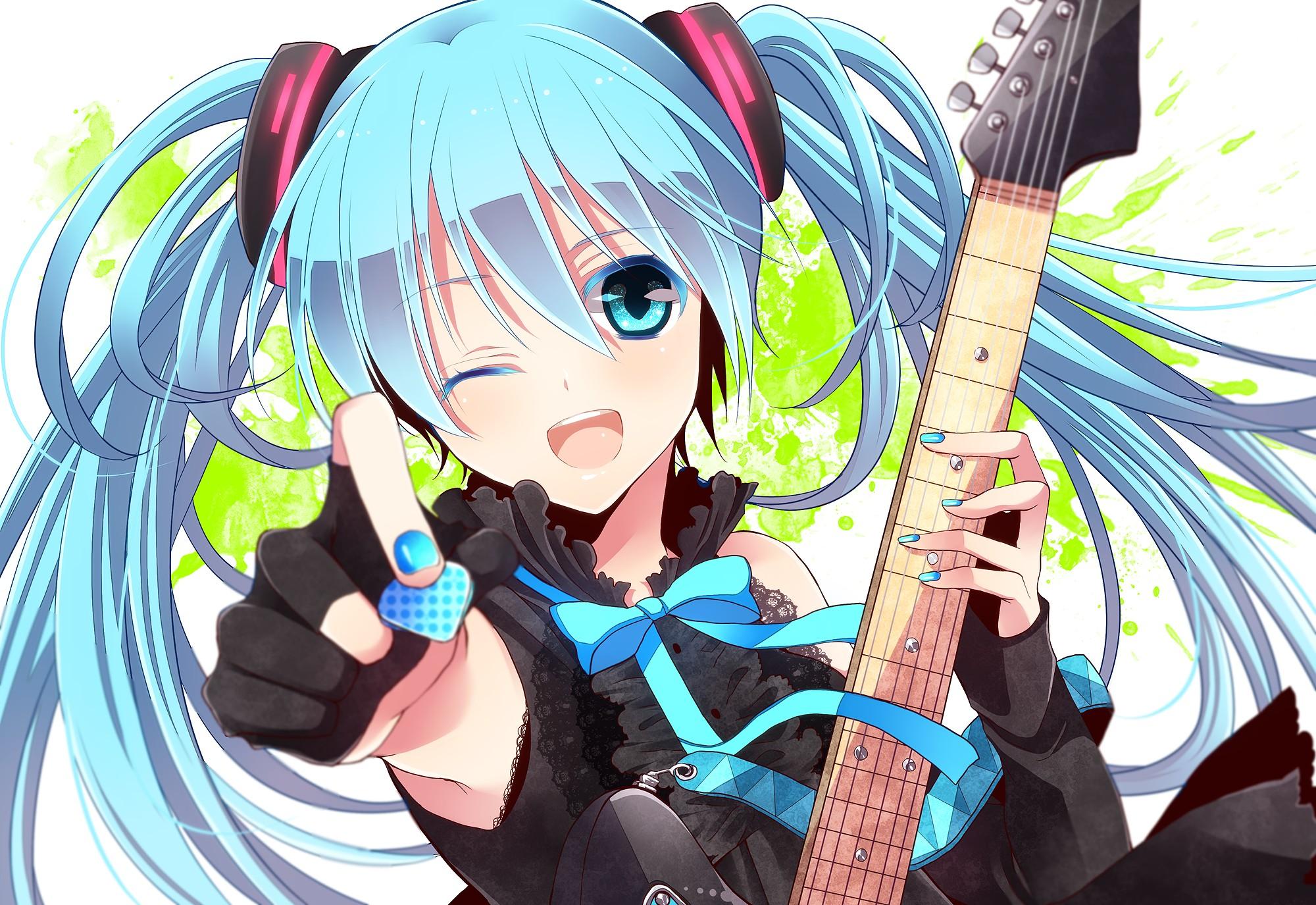 Vocaloid- The Physic Synesthetic Technology  Hatsune-miku1