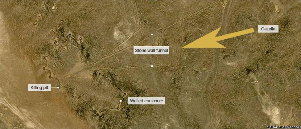 Formes géometriques désert Arabie Saoudite Kite1