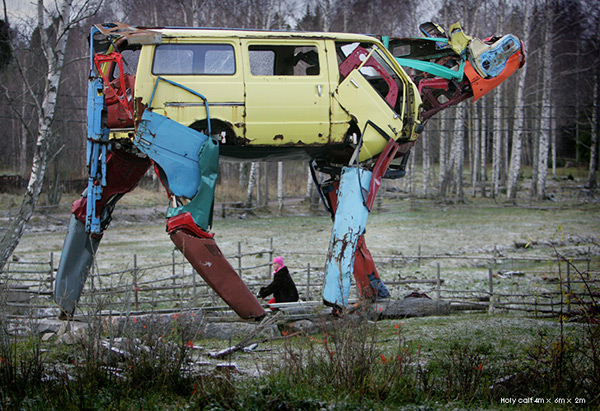 Vaches Cam's... Cows_made_from_car_parts_by_Miina_akkijyrkka_01