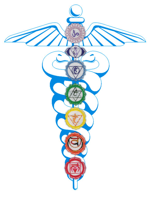 Warning For Religious People   Chakras-caduceus