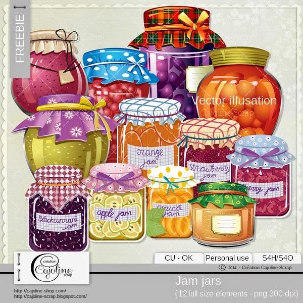 Freebie - Jam jars CU  Fraabie_cajoline_jamjar_vi_cu