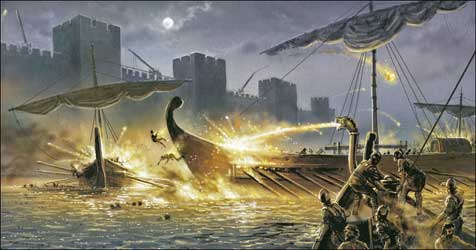 Here be dragons... Greek_fire