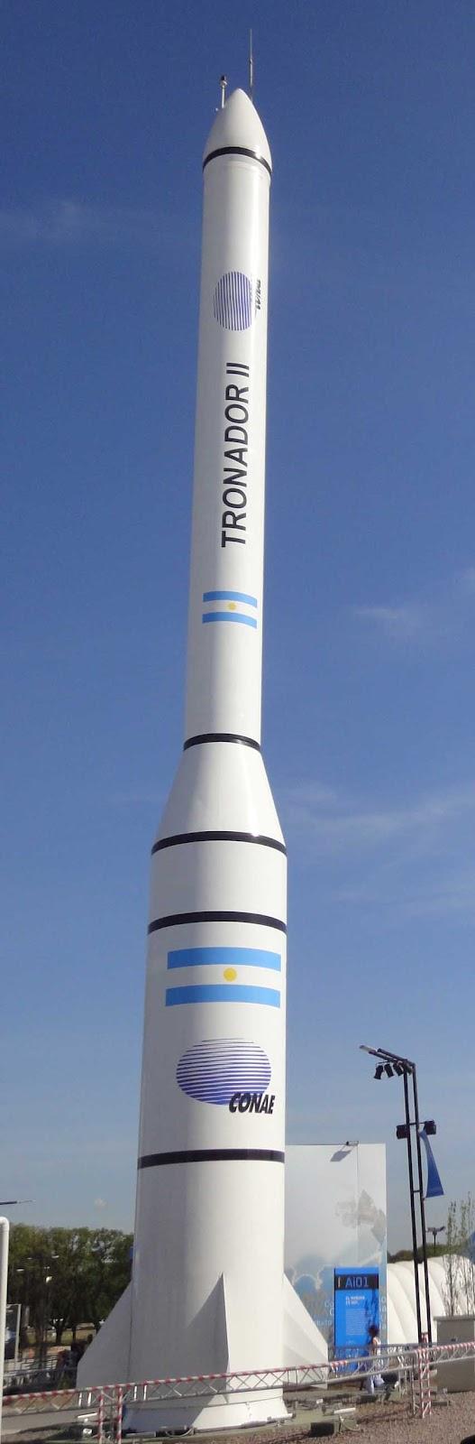 En 2015 estará listo el cohete construido en Falda del Carmen (LA VOZ DEL INTERIOR) Atronador