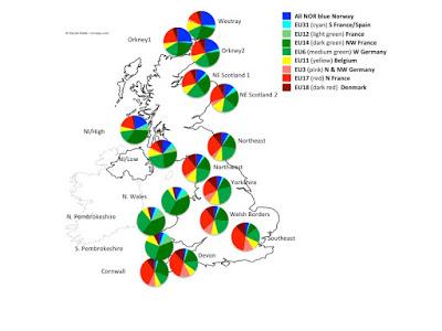 The original Brits are Basque? - Stephen Oppenheimer's DNA research - plus Bodmer update... Pre-Roman%2BFrench%2BInvasion