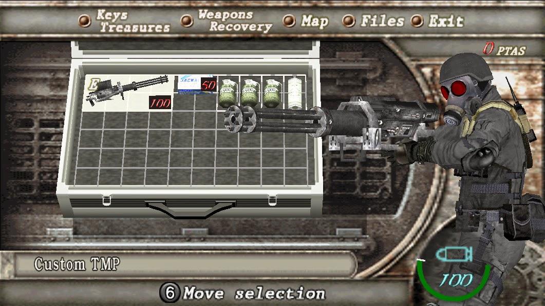 JJ-machine gun for Tmp - HUNK JJ_weapon2
