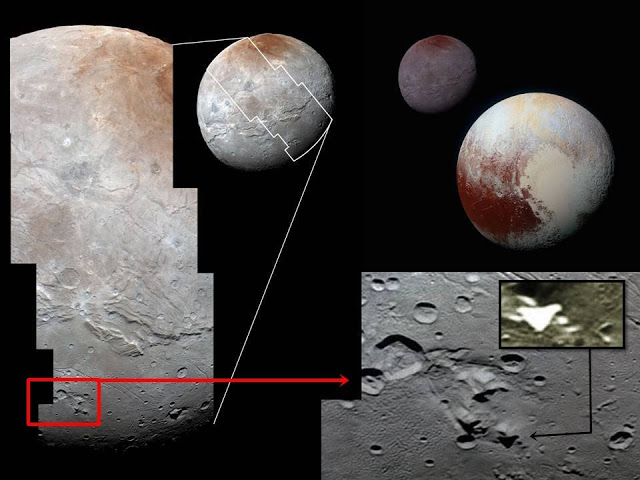 Space Shuttle-like Craft and Buildings on Pluto's largest moon Charon?  Pluto%2Bcharon%2B%25283%2529