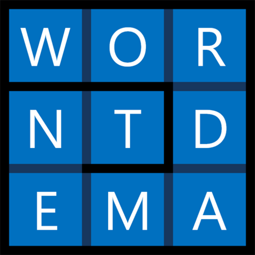 Wordament Wordament-Large-Square