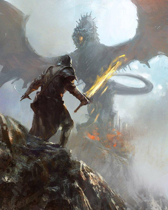 Prelúdio: Ascensão e queda de Vlad Dragon_hunter_by_lingy_0-d50g3f8