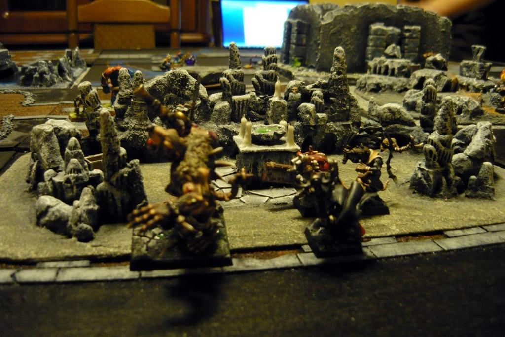 Testing Karak Zorn - first battle in the dungeons P1050515