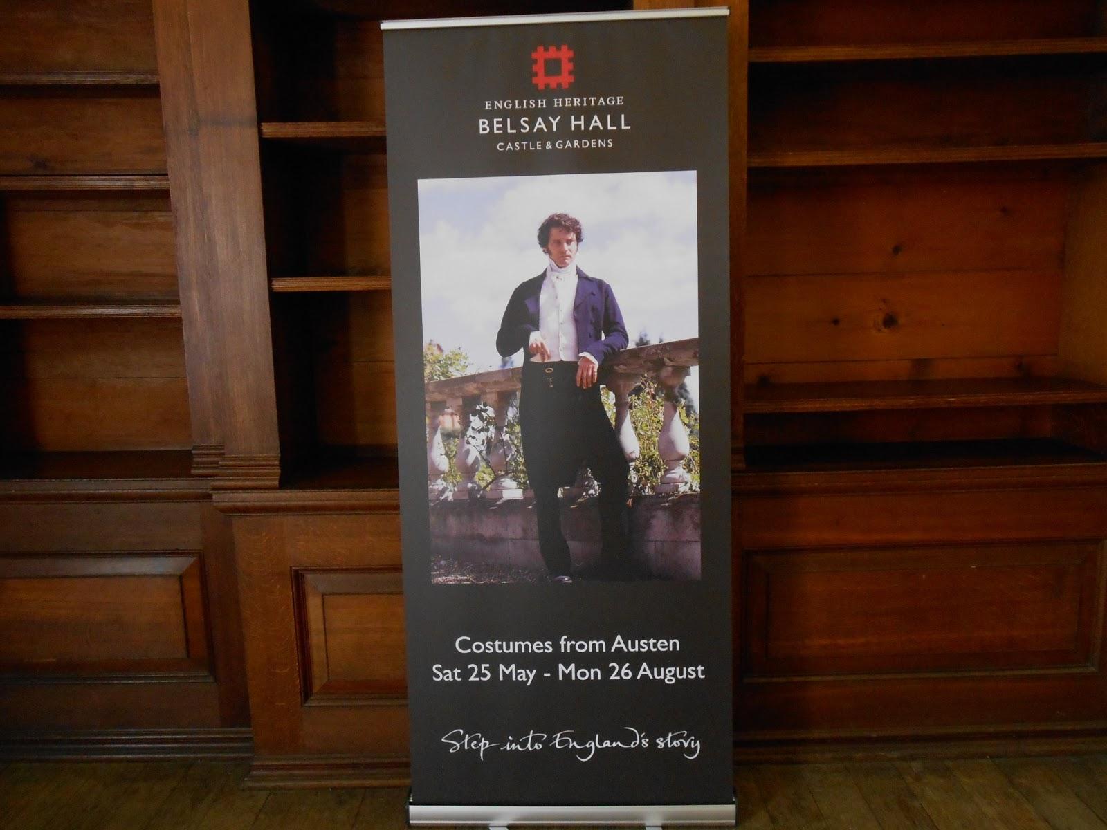 Exposition de costumes austeniens à Belsay Hall DSCN1123