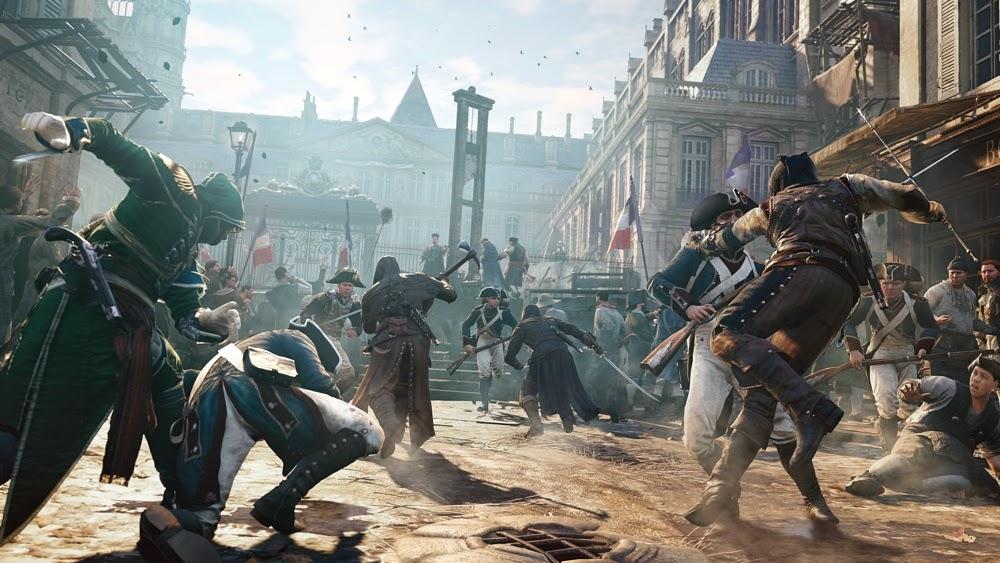 تنزيل لعبة القتال Assassins Creed Unity 2015 مجانا بالصور Assassins%2BCreed