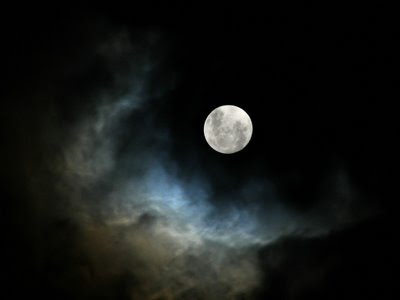 Our Moon Is Being Surrounded Full-moon