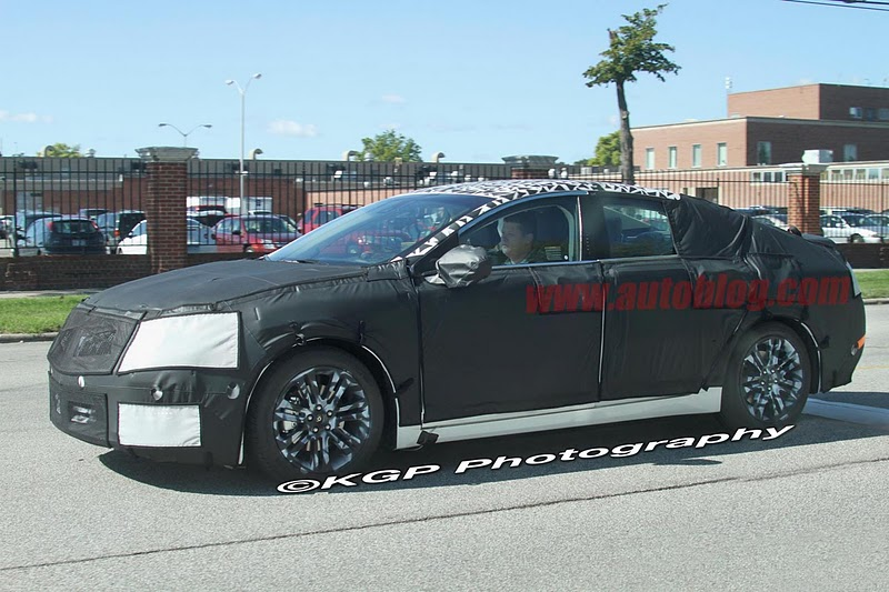 2016 - [Lincoln] MKZ 003-spy-shots-lincoln-mkz