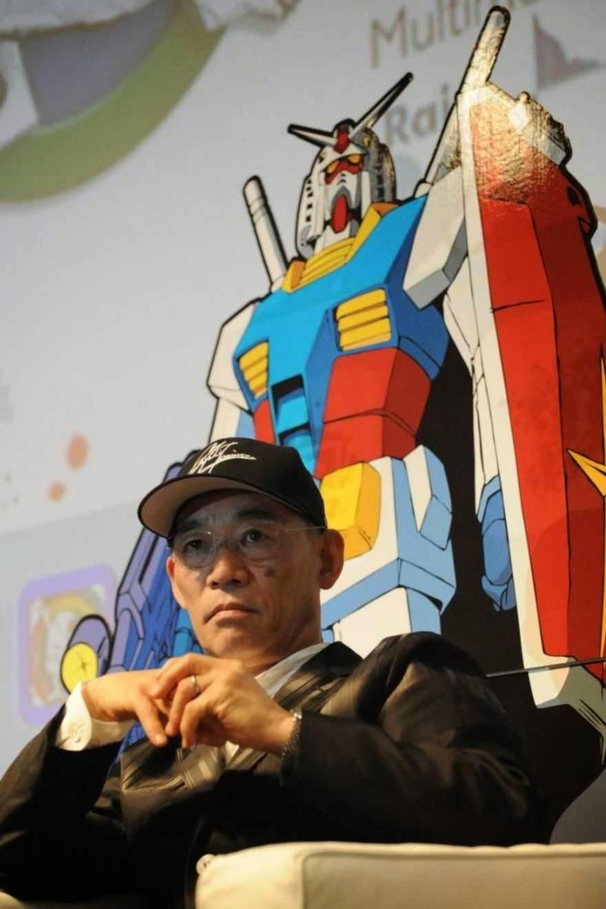 """[Gundam é melhor news] Criador de Gundam Critica Duramente """"Ataque dos Titãs"""" Tomino_gundam"""
