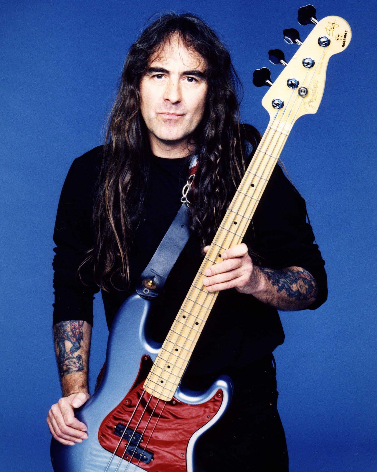 Seu baixista e o baixo dele - Página 2 Steve-Harris-Simon-Fowler-20032
