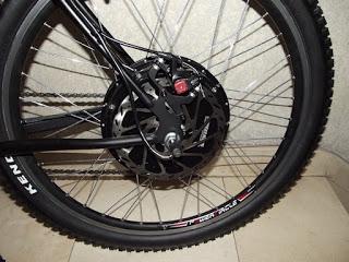 Presento los cambios que han dado lugar a la nueva bici que he montado sobre el 9C de 3,5 kW 5