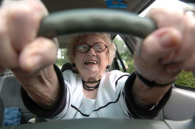 AWESOME NEWS! Old-lady-behind-steering-wheel