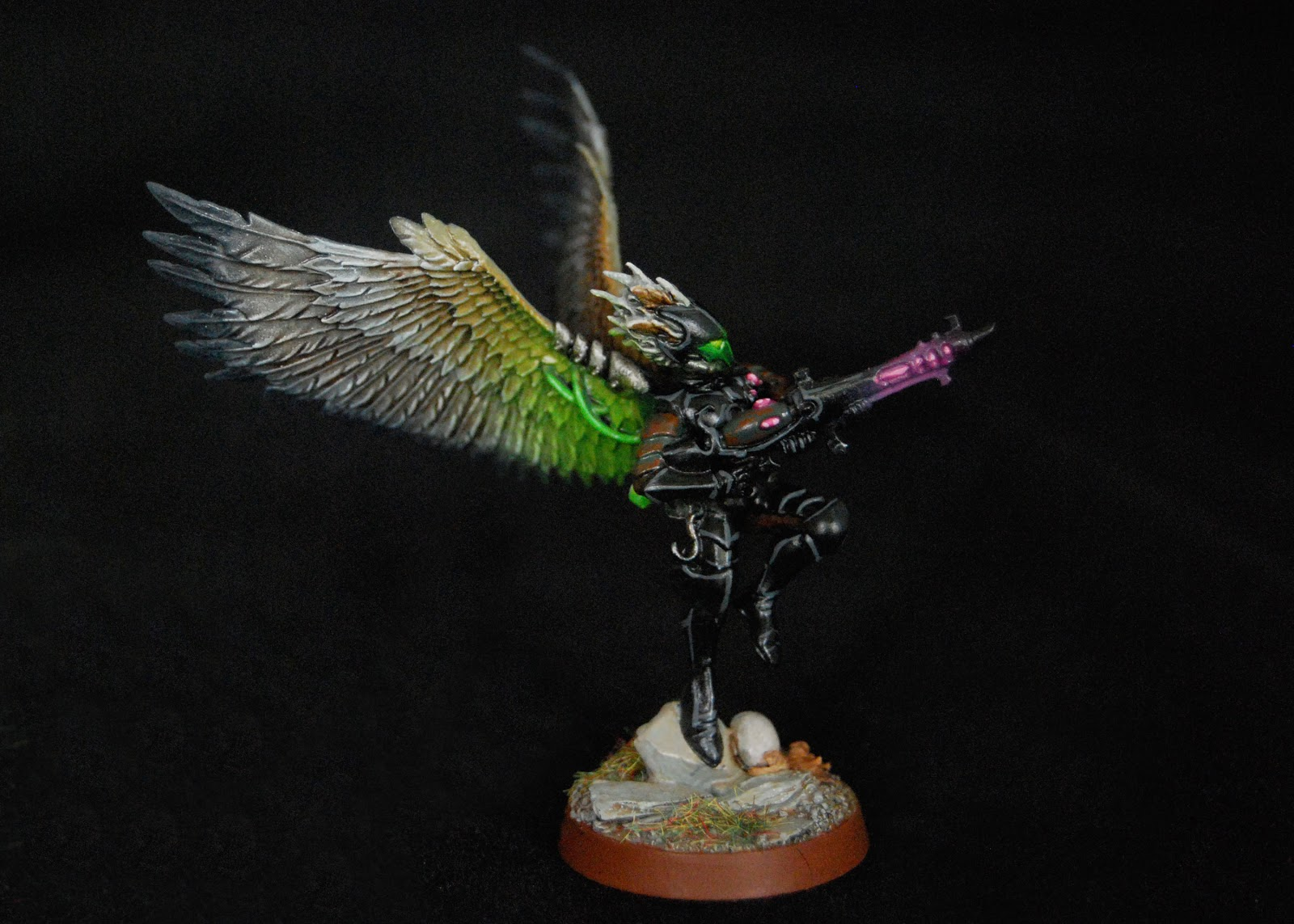 EOE's Dark Eldar Painting Tutorials  Birdwing_Scourges_09