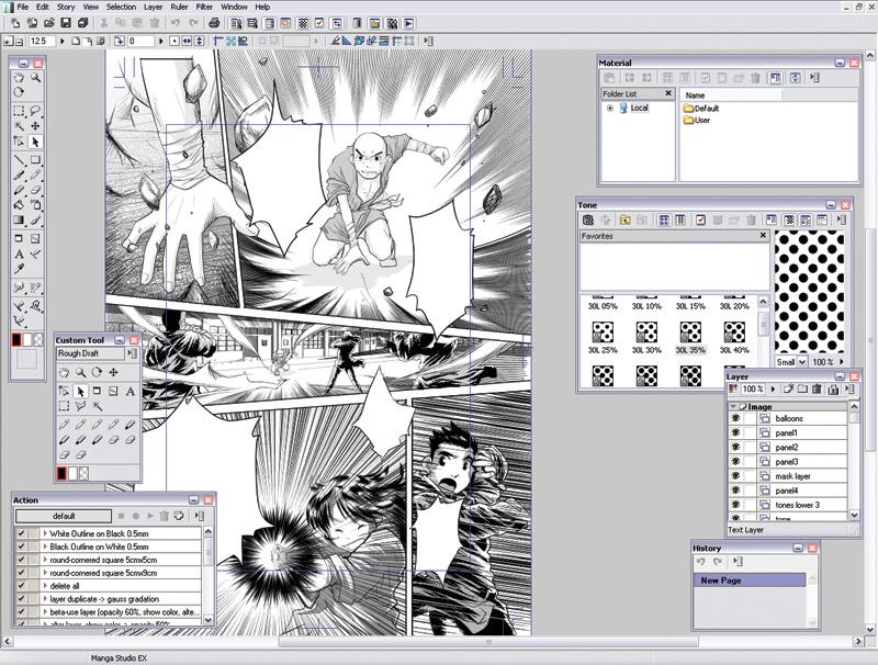 [share] MangaStudio : make your own manga! 2