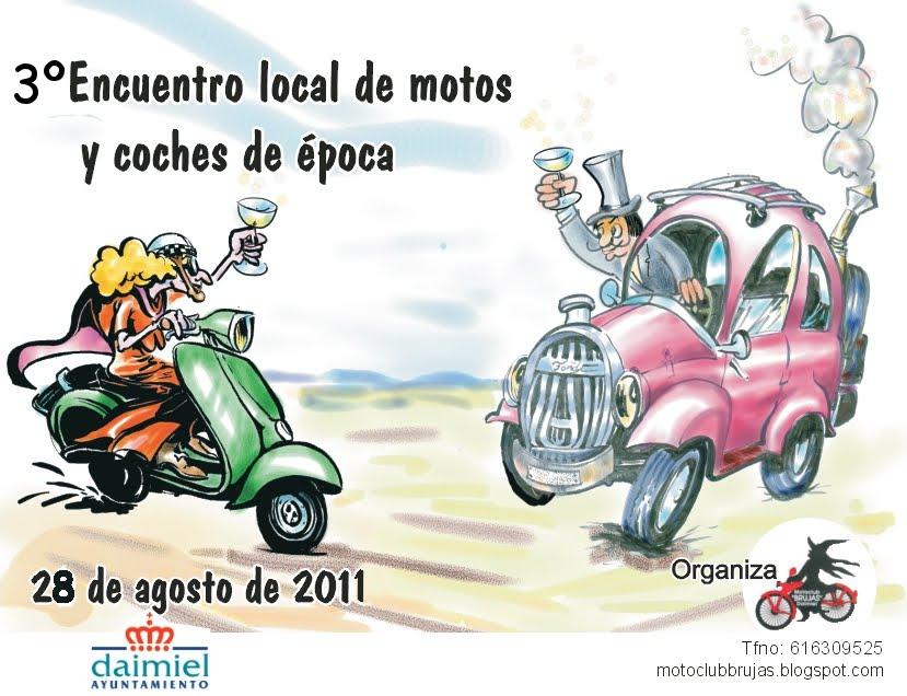 Concentración de vehiculos clásicos en DAIMIEL (Ciudad Real) Cartel