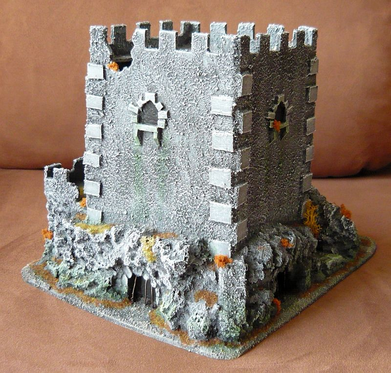 Dwalthrim's smithy - my table and terrain Dt07