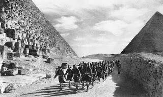 Scottish infantry , British army , Egypt 1940