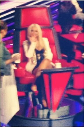 """Otro Fan Acude a The Voice 3: """"Christina le Secó las Lágrimas a una Concursante""""  Tv3"""