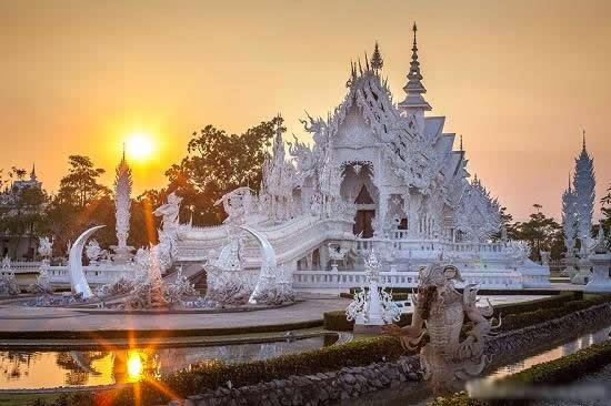 المعبد الأبيض..من أجمل الأبنية في العالم White-temple-thailand-Wat_Rong_Khun-2