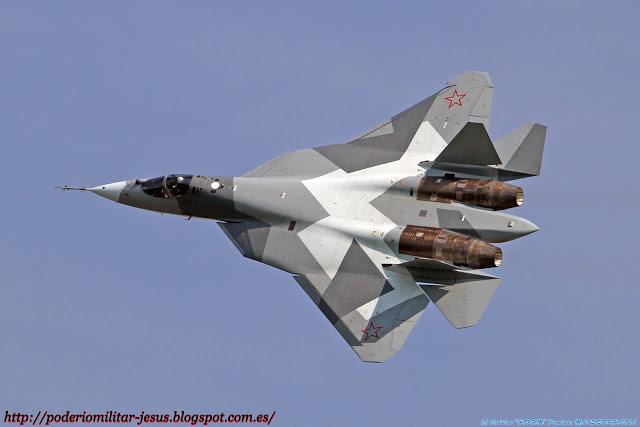 Rusia no puede permitirse sus nuevas armas de alta tecnología.  Caza%2BPAK-FA%2B%25283%2529
