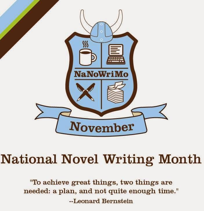 El Nanowrimo, (National Novel Write Month) Nanowrimo