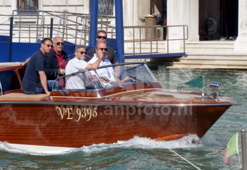 George Clooney arrives in Venice 24414807