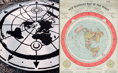 200 Proofs Earth is Not a Spinning Ball Map-pic