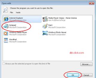 كيفية حجب المواقع مهما كان نوعها بدون أي برنامج Block-host-4