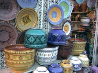 أطباق و أواني من الفخار صنع المغرب 8