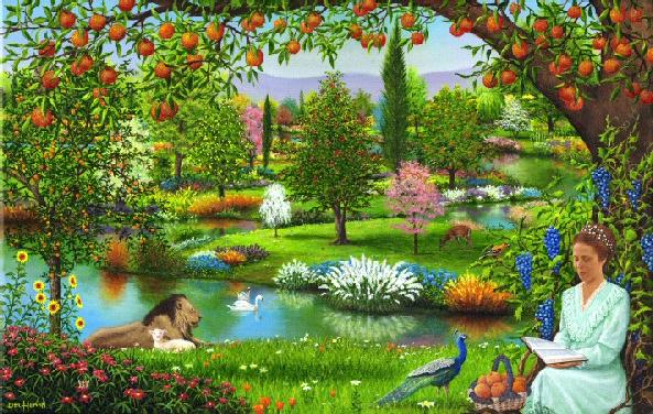 """Voici - Voici à quoi ressemblerait le """"Monde à venir"""" après le Retour de Jésus Paraiso"""