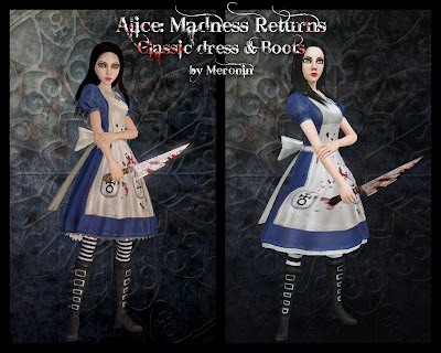 Alice: Madness Returns Set by MeroninSims3  Classic
