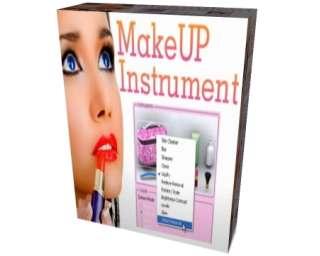 MakeUp Instrument 7.3 لعمل مكياج للوجه في الصور MakeUp-Instrument