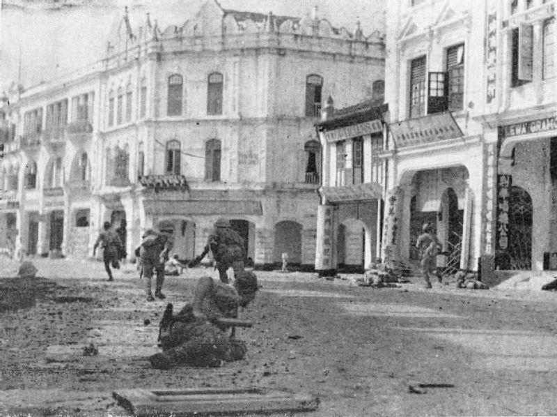 scène de combat Japanese_troops_mopping_up_in_Kuala_Lumpur