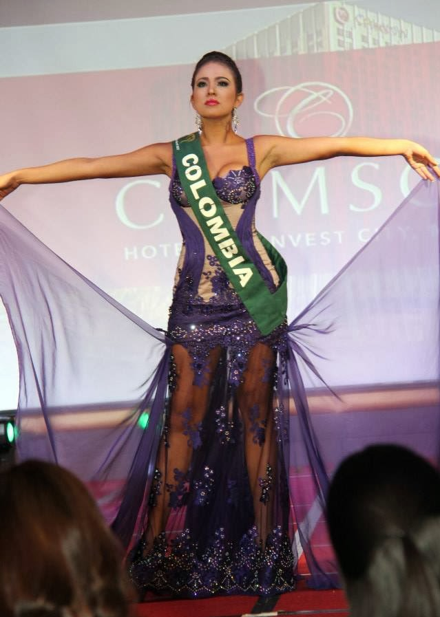 Miss Earth Colombia 2014(road to the crown) Colombia
