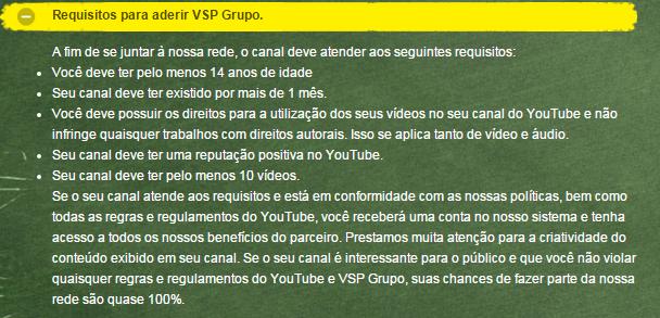 [Provado] VSP Group - Ganha dinheiro com seus vídeos do youtube! 3