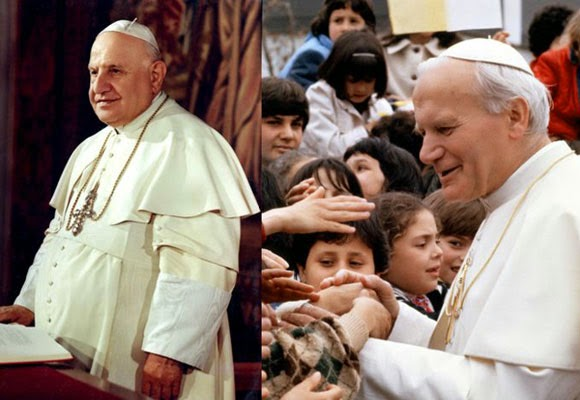 Retour Citation de Saint Jean-Paul II/sujet/Avent 11_JPII_JEANXXIII
