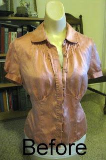 Provocarea 2, la croitorie: Reuse, Recycle, Repurpose Shirt1