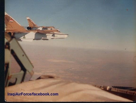 المقاتله Su-24 Fencer القاذفه  IraqiAF-SU-24MK-02