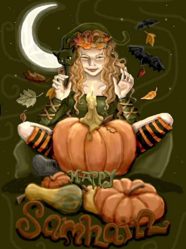 Samain/halloween Samhain