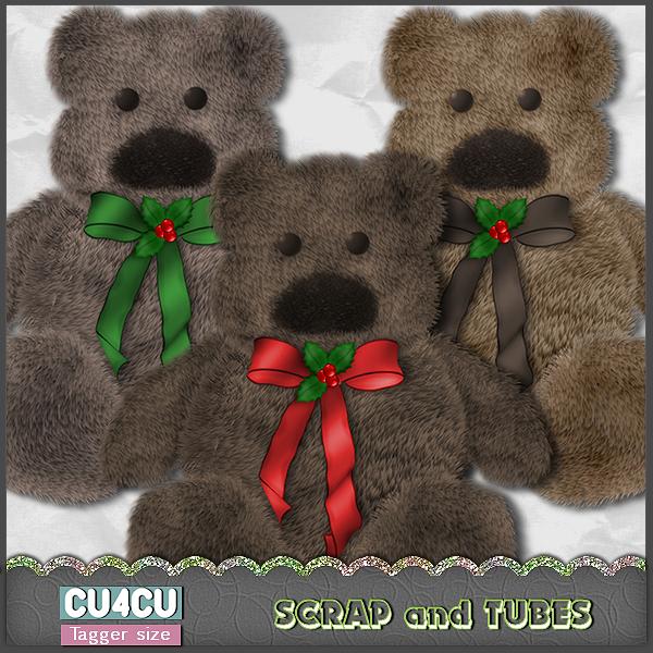 Xmas Teddy Bears (CU4CU) .Xmas%2BTeddy%2BBears_Preview_Scrap%2Band%2BTubes