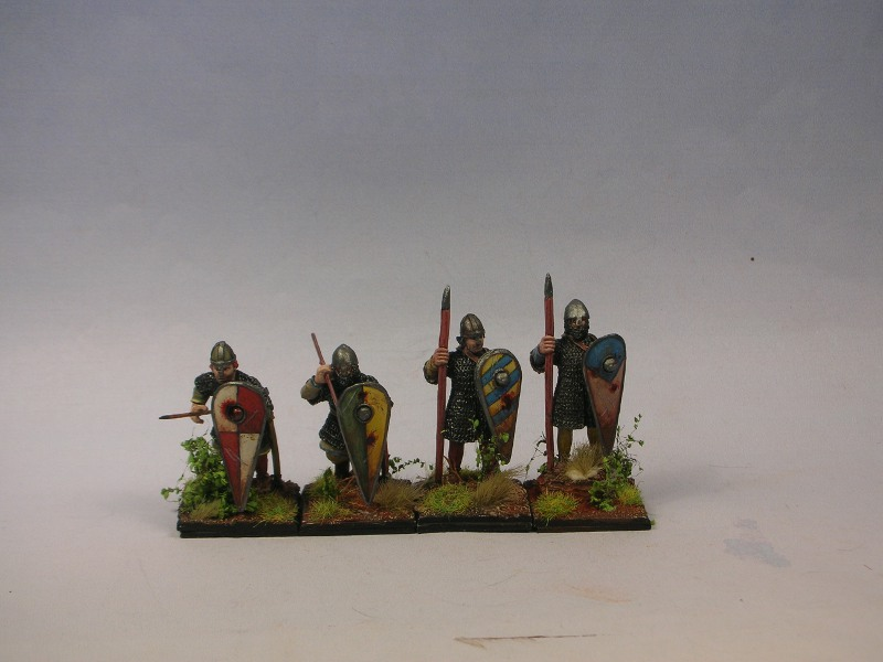 28mm Crusader spearmen for HC No.4