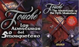 Touche Las aventuras del 5º Mosquetero Touche_front