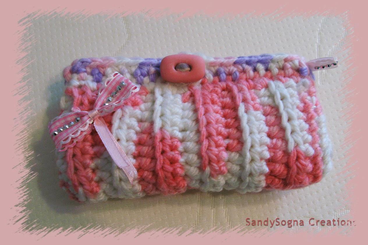 Pochette porta uncinetti con lana in esubero. Aggiornamento set completo POCHETTE2